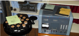 Nuclear medicine gamma camera and scaler-timer.